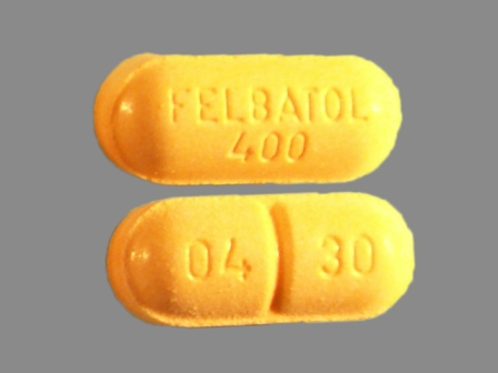 FELBATOL 400 0430: (0037-0430) Felbatol 400 mg Oral Tablet by Meda Pharmaceuticals Inc.