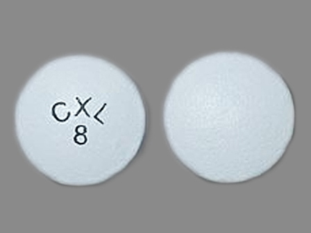 CXL 8: (0049-2720) 24 Hr Cardura 8 mg Extended Release Tablet by Roerig