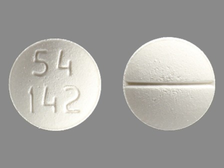 54 142: (0054-4571) Methadone Hydrochloride 10 mg Oral Tablet by Roxane Laboratories, Inc