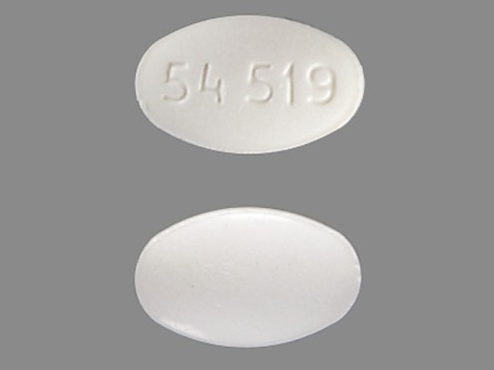 54 519: (0054-4858) Triazolam 0.125 mg Oral Tablet by Roxane Laboratories, Inc.