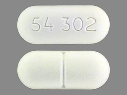 54 302: (0054-8120) Calcium Carbonate 1250 mg (Calcium 500 mg) Oral Tablet by Roxane Laboratories, Inc.