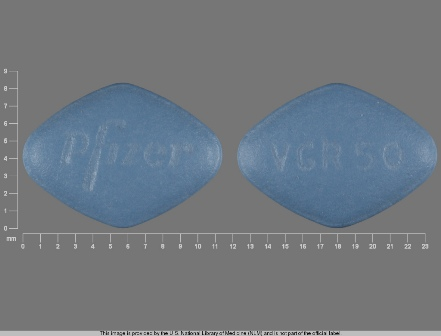 VGR50 Pfizer: (0069-4210) Viagra 50 mg Oral Tablet by U.S. Pharmaceuticals