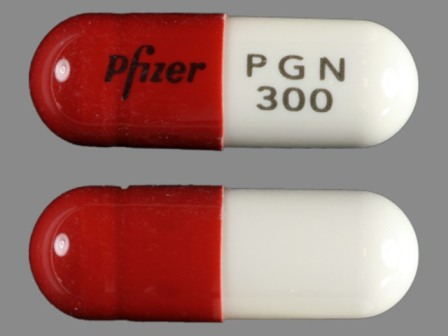 Pfizer PGN 300: (0071-1018) Lyrica 300 mg Oral Capsule by Rebel Distributors Corp