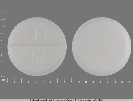 93 41: (0093-0041) Clomiphene Citrate 50 mg Oral Tablet by Teva Pharmaceuticals USA Inc