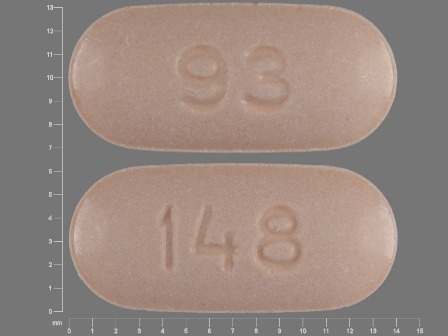 93 148: (0093-0148) Naproxen 375 mg Oral Tablet by Teva Pharmaceuticals USA Inc