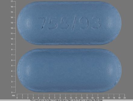 755 93: (0093-0755) Diflunisal 500 mg Oral Tablet by Physicians Total Care, Inc.