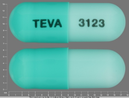 TEVA 3123: (0093-3123) Dicloxacillin Sodium 250 mg Oral Capsule by A-s Medication Solutions LLC