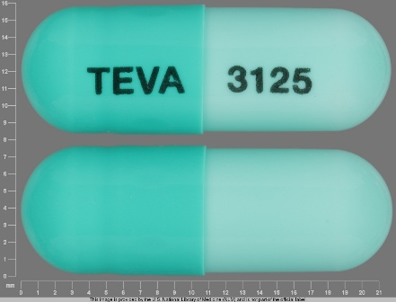 TEVA 3125: (0093-3125) Dicloxacillin Sodium 500 mg Oral Capsule by A-s Medication Solutions