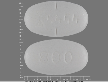 4444 800: (0093-4444) Gabapentin 800 mg Oral Tablet by Teva Pharmaceuticals USA Inc