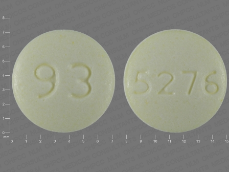 93 5276: (0093-5276) Dexmethylphenidate Hydrochloride 5 mg Oral Tablet by Teva Pharmaceuticals USA Inc
