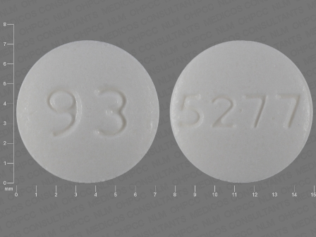93 5277: (0093-5277) Dexmethylphenidate Hydrochloride 10 mg Oral Tablet by Teva Pharmaceuticals USA Inc