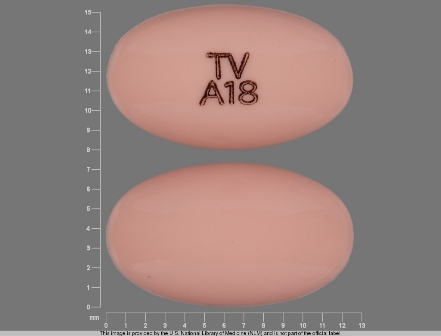 TV A18: (0093-5353) Progesterone 100 mg Oral Capsule by Teva Pharmaceuticals USA Inc