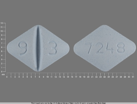 9 3 7248: (0093-7248) Lamotrigine 200 mg Oral Tablet by Stat Rx USA LLC