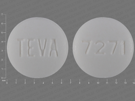TEVA 7271: (0093-7271) Pioglitazone 15 mg Oral Tablet by Teva Pharmaceuticals USA Inc