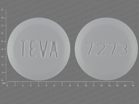 TEVA 7273: (0093-7273) Pioglitazone 45 mg Oral Tablet by A-s Medication Solutions