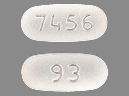 93 7456: (0093-7456) Glipizide 2.5 mg / Metformin Hydrochloride 500 mg Oral Tablet by Teva Pharmaceuticals USA Inc