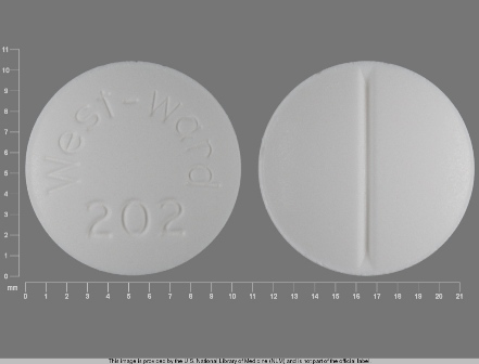 West ward 202: (0143-1202) Cortisone Acetate 25 mg Oral Tablet by West-ward Pharmaceutical Corp