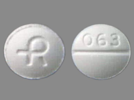 R 063: (0228-2063) Lorazepam 2 mg Oral Tablet by Actavis Elizabeth LLC