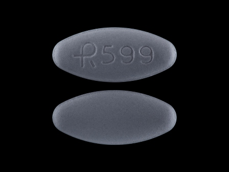 R 599 oval grey tablet