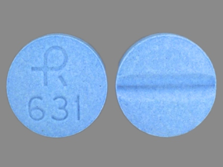 R 631: (0228-2631) Isosorbide Mononitrate 10 mg Oral Tablet by Actavis Elizabeth LLC