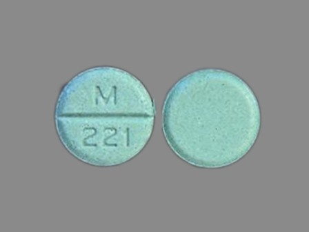 M 221: (0378-0221) Timolol 10 mg Oral Tablet by Mylan Pharmaceuticals Inc.