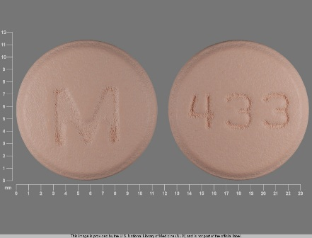 M 433: (0378-0433) Bupropion Hydrochloride 75 mg Oral Tablet by Mylan Pharmaceuticals Inc.