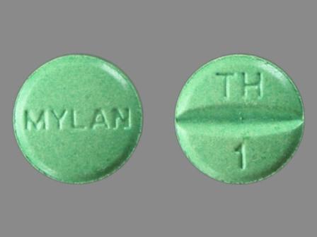 MYLAN TH 1: Hctz 25 mg / Triamterene 37.5 mg Oral Tablet