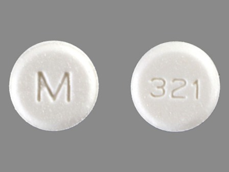 M 321: (0378-2321) Lorazepam 0.5 mg Oral Tablet by Mylan Pharmaceuticals Inc.