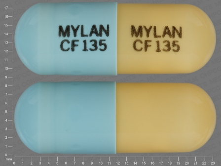 MYLAN CF 135: (0378-2590) Fenofibric Acid 135 mg/1 Oral Capsule, Delayed Release Pellets by Mylan Institutional Inc.