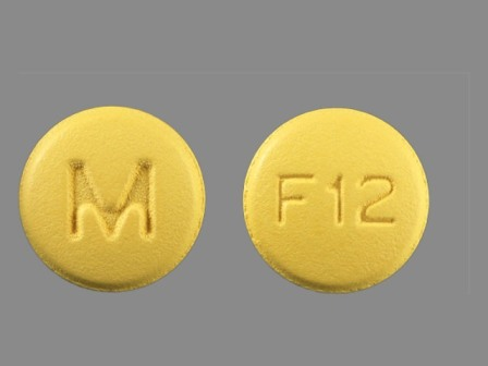 M F12: (0378-5012) Felodipine 5 mg 24 Hr Extended Release Tablet by Mylan Pharmaceuticals Inc.