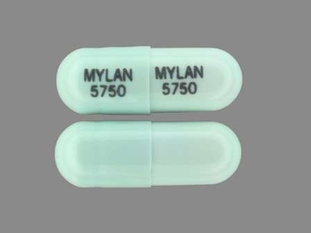 MYLAN 5750: (0378-5750) Ketoprofen 75 mg Oral Capsule by Mylan Pharmaceuticals Inc.