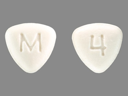 M 4: (0378-6004) Fluphenazine Hydrochloride 1 mg Oral Tablet by Mylan Pharmaceuticals Inc.