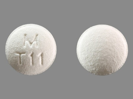 M T11: (0378-6101) Topiramate 25 mg Oral Tablet by Mylan Pharmaceuticals Inc.