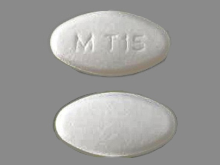 M T15: (0378-6105) Topiramate 200 mg Oral Tablet by Mylan Pharmaceuticals Inc.