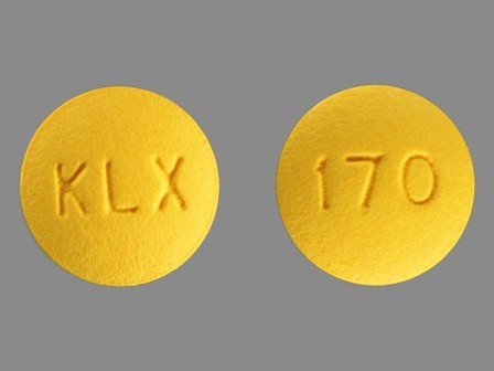 KLX 170: (0378-7100) Fenofibrate 54 mg Oral Tablet by Mylan Pharmaceuticals Inc.