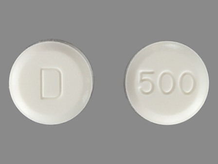 D 500: (0456-0095) Daliresp 0.5 mg Oral Tablet by Forest Laboratories, Inc.