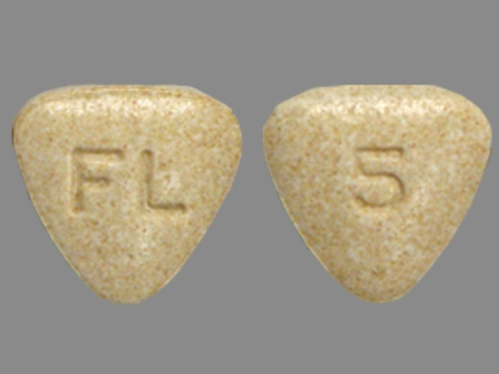 5 FL: (0456-1405) Bystolic 5 mg Oral Tablet by Forest Laboratories, Inc.