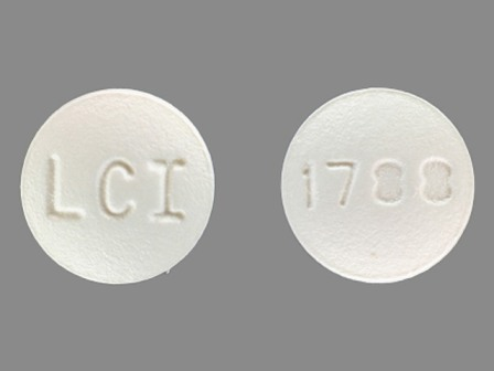 LCI 1788: (0527-1788) Fluphenazine Hydrochloride 1 mg Oral Tablet by Lannett Company, Inc.