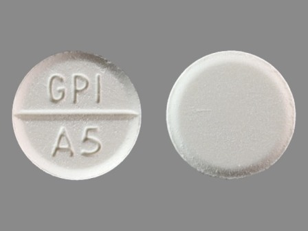 GPI A5: (0536-3231) Apap 500 mg Oral Tablet by Rugby Laboratories, Inc.