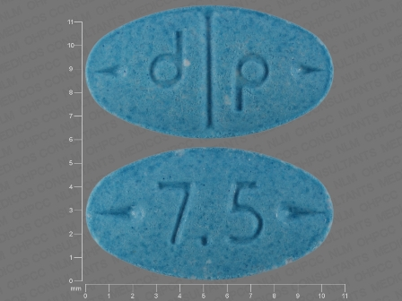 7 5 d p: (0555-0763) Adderall 7.5 mg Oral Tablet by Barr Laboratories Inc.