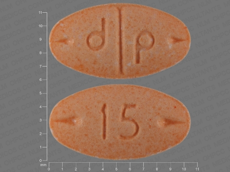 15 d p: (0555-0766) Adderall 15 mg Oral Tablet by Barr Laboratories Inc.