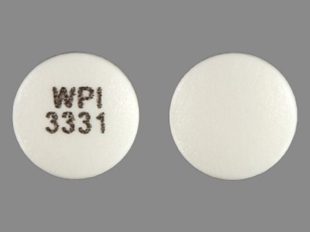 WPI 3331: (0591-3331) Bupropion Hydrochloride XL 150 mg 24 Hr Extended Release Tablet by Watson Laboratories, Inc.