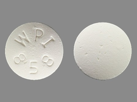 WPI 858: (0591-3540) Bupropion Hydrochloride 100 mg 12 Hr Extended Release Tablet by Watson Laboratories, Inc.