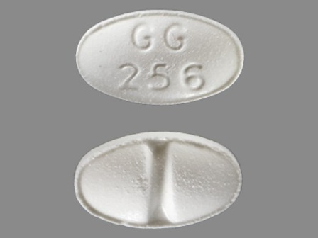 GG256: (0781-1061) Alprazolam .25 mg/1 Oral Tablet by Kaiser Foundation Hospitals