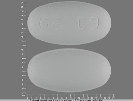 GG C9: (0781-1962) Clarithromycin 500 mg Oral Tablet by Sandoz Inc