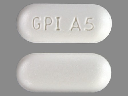 GPI A5: (0904-1983) Mapap 500 mg Oral Tablet by Major Pharmaceuticals