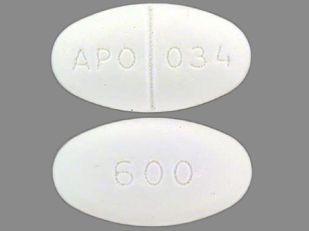 APO 034 600: (0904-5379) Gemfibrozil 600 mg Oral Tablet by Major Pharmaceuticals