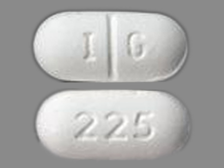 225 IG: (0904-5988) Gemfibrozil 600 mg Oral Tablet by Pd-rx Pharmaceuticals, Inc.