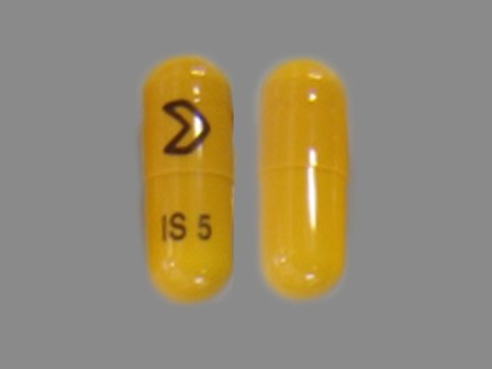 IS 5: (16252-540) Isradipine 5 mg Oral Capsule by Cobalt Laboratories