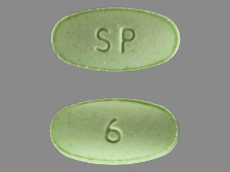 Green oval pill sp 6 topics medschat mozeypictures Images